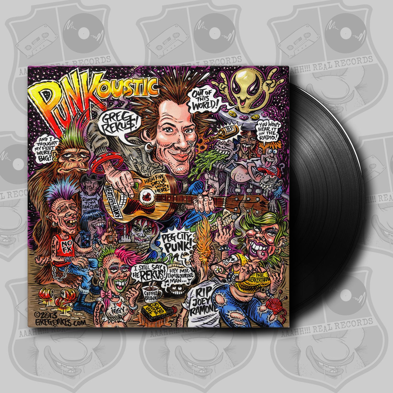 Greg Rekus – Punkoustic [LP]