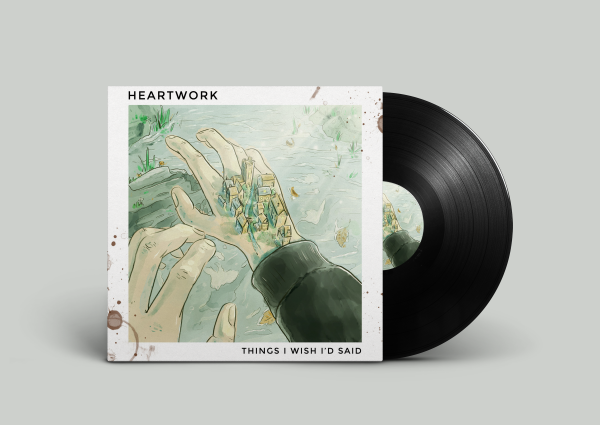 Heartwork LP mock up