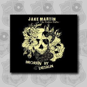 Jake Martin - Broken By Design [CD]