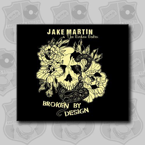 Jake Martin - Broken By Design [CD]