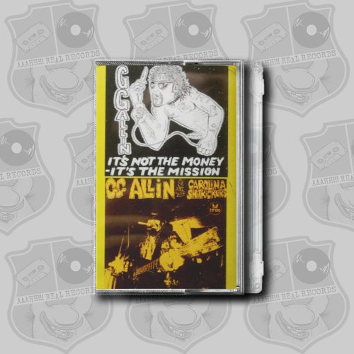 GG Allin - Final Recording Session [cassette]